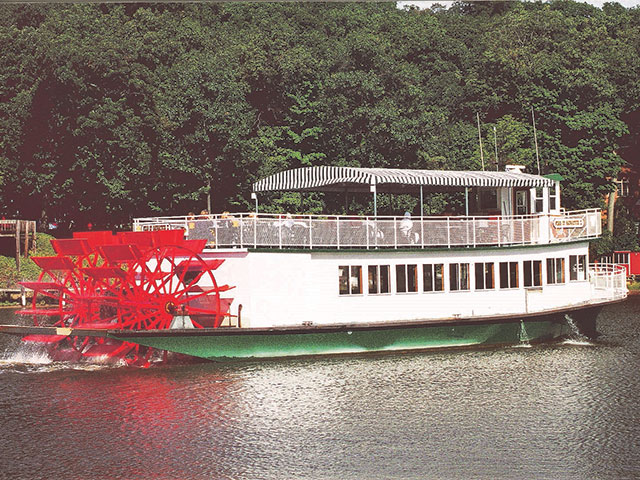 Paddlewheel passenger vessel designed by Bristol Harbor Group Inc